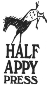 HALF APPY PRESS SMALL LOGO